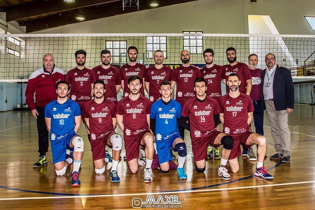 volley club grottaglie (foto squadra)