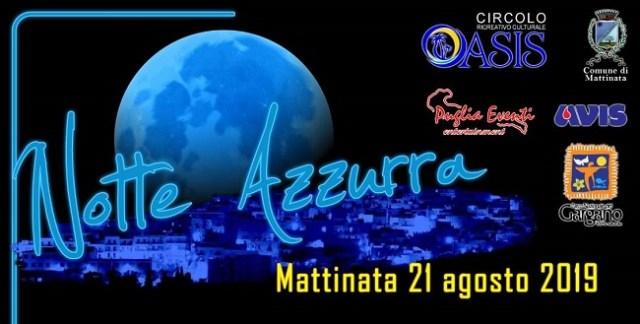 banner notte azzurra 2019