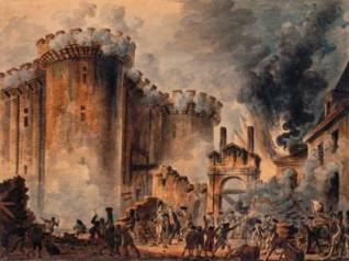 Met de bestorming van de Bastille veranderde de organisatie van het publieke domein volledig in Frankrijk