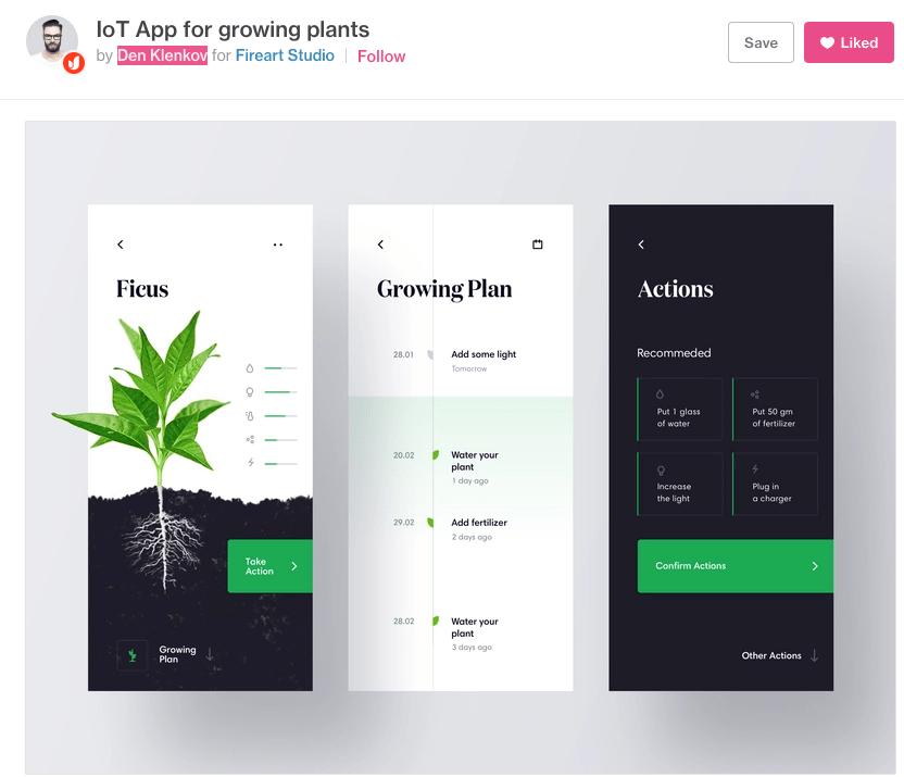 Xamarin.Forms UI Challenge – Ficus IoT App
