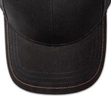 Pukka hat, visor stitching, 4 rows, 1 contrast stitch, 1 color