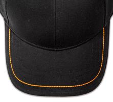 Pukka hat, visor stitching, 4 rows, 1 thick stitch, 1 color