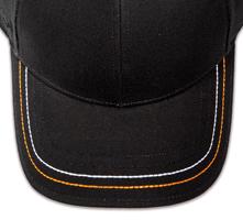 Pukka hat, visor stitching, 4 rows, 2 thick stitch, 2 color