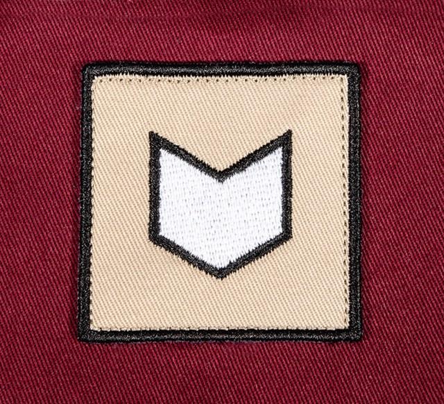 Pukka hat patch embellishment flat embroidery