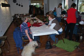 Puli Wanderung Nettetal intensive Gespräche