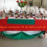 Puli Klubsieger Zuchtschau in Lautertal Ehrentisch