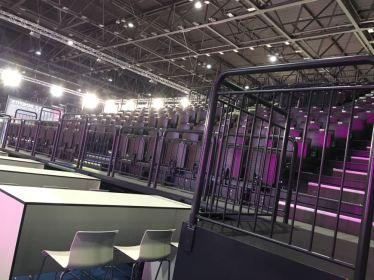 World dog show Leipzig 2018 Die Tribüne