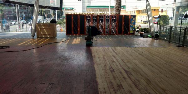 pulimos tus pisos de madera