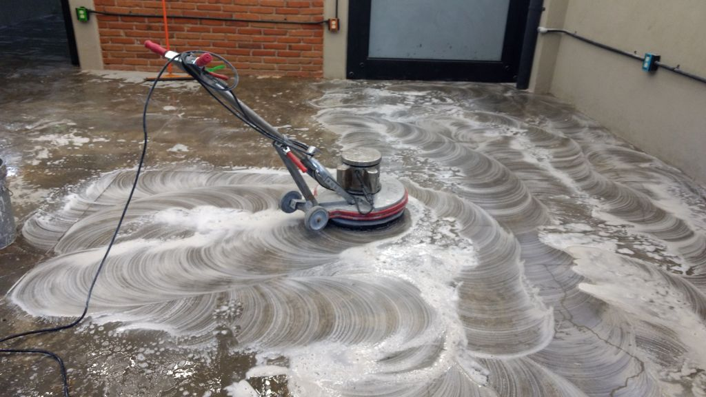 lavado de pisos
