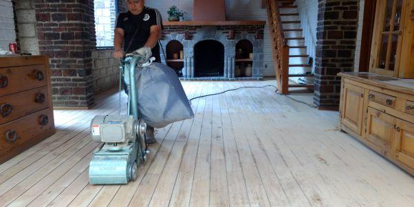 pulido de pisos de madera en indios verdes