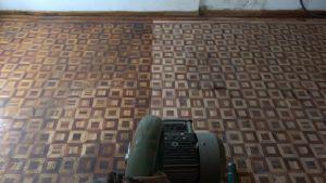 pulido y restauración de piso de madera
