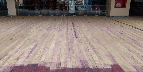 pulimos pisos de madera en México