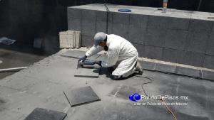 pulido de granito con esmeril