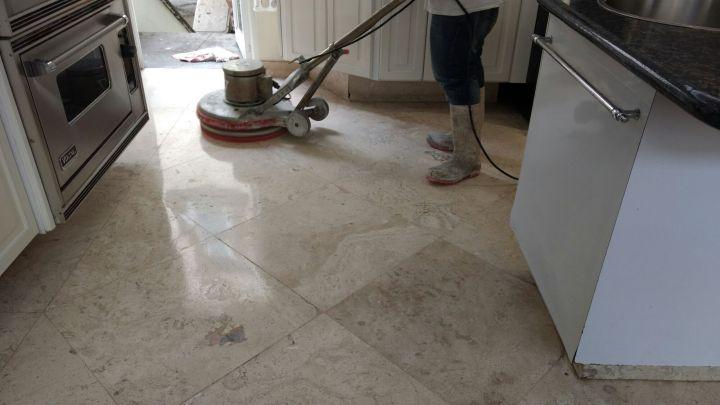 mantenimiento de marmol