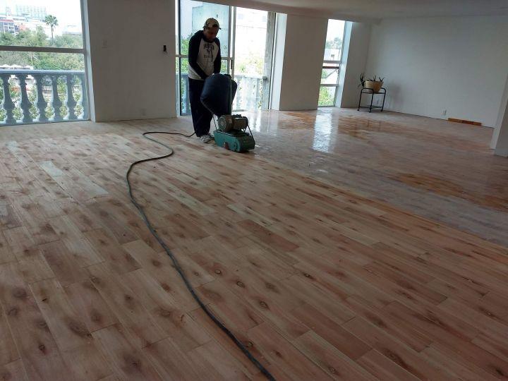 lijado y pulido de pisos de madera