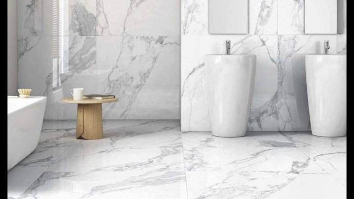 pisos para baños de mármol