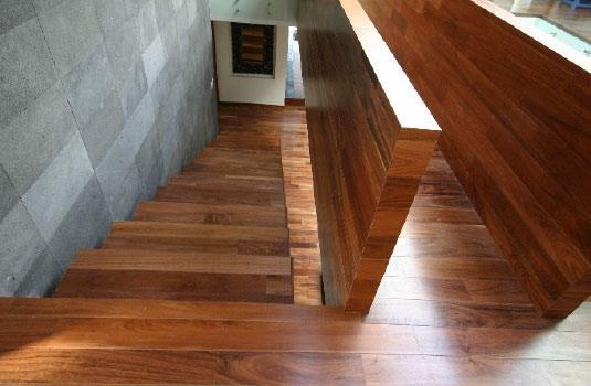 piso de madera de tzalam en Mexico