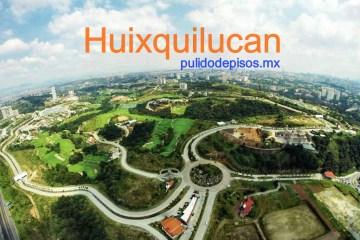 pulido de pisos Huixquilucan