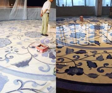 lavado y pulido de piso artesanal