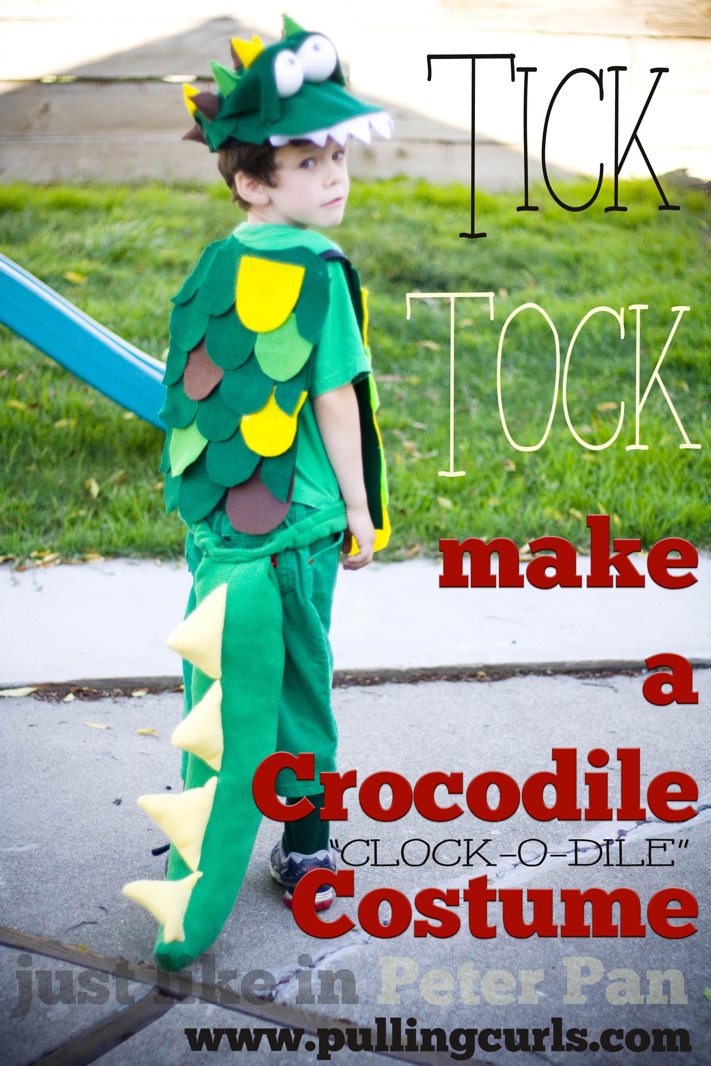 crocodile costume hat