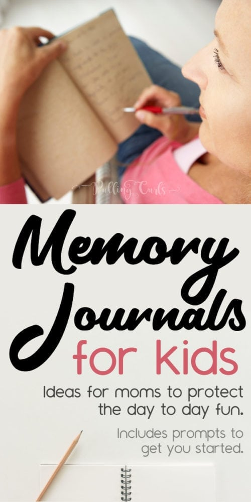 Memory Journals for Kids