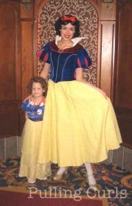 Princess for a day at Disneyland