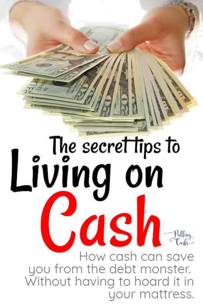 Living on cash takes a bit of finesse -- let's talk about what to do so that it's easy to say now when you're fresh out! #budget #cash #income via @pullingcurls