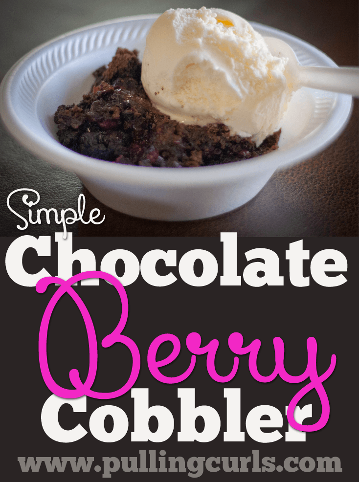 This simple berry cobbler is so easy to make and hits the spot!