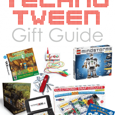 Is your tween a tech-head? Do they love all things electronics. Check out this gift guide to spark your holiday ideas to give THEM something to spark their curiosity!