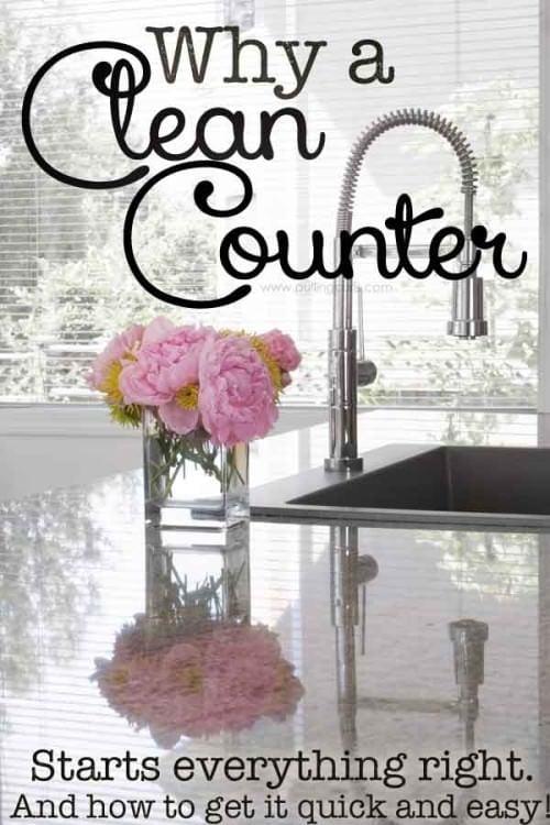 counters clean | vinegar | natural | microfiber | keeping