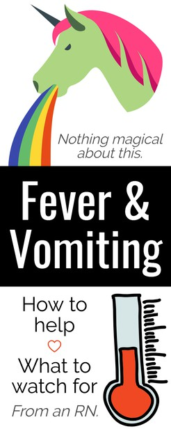 In this post, we'll talk about fever & vomiting in children -- babies, infants toddlers, 3-year-olds and more. When to worry if it's meningitis and what to even do with adults? #stomachflu #vomiting #babies #infants #vomitingrememdiesforkids #vomiting #kids #adults #meningitis #tylenol   via @pullingcurls