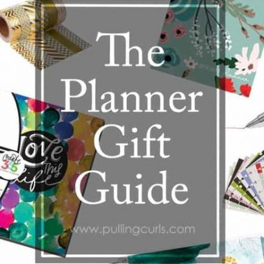 Have someone in your life who loves planning, or might love it? Here's some of the top things to get them for Christmas to make their organized heart glow!
