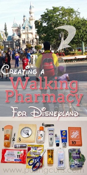 What to pack for Disneyland | Tips for families | Kids | Babies | Toddlers | hacks | secrets | Amusement Parks via @pullingcurls