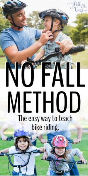 how to teach a child to ride a bike