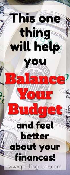 finances bills budget money | enough | budgeting | magic | income | expenses via @pullingcurls