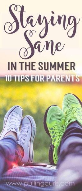 mom during summer | schedule | activities via @pullingcurls