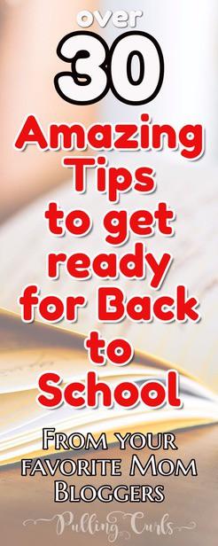 back to school tips | supplies | organization  via @pullingcurls