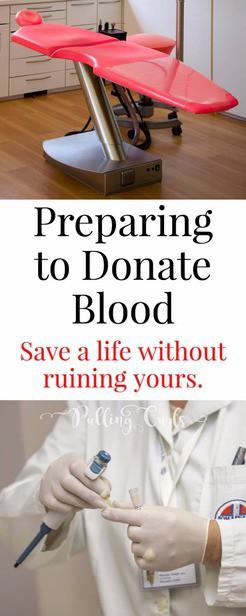 Preparing to donate blood -- ideas, tips, tricks, hacks, well, fainting, weak via @pullingcurls