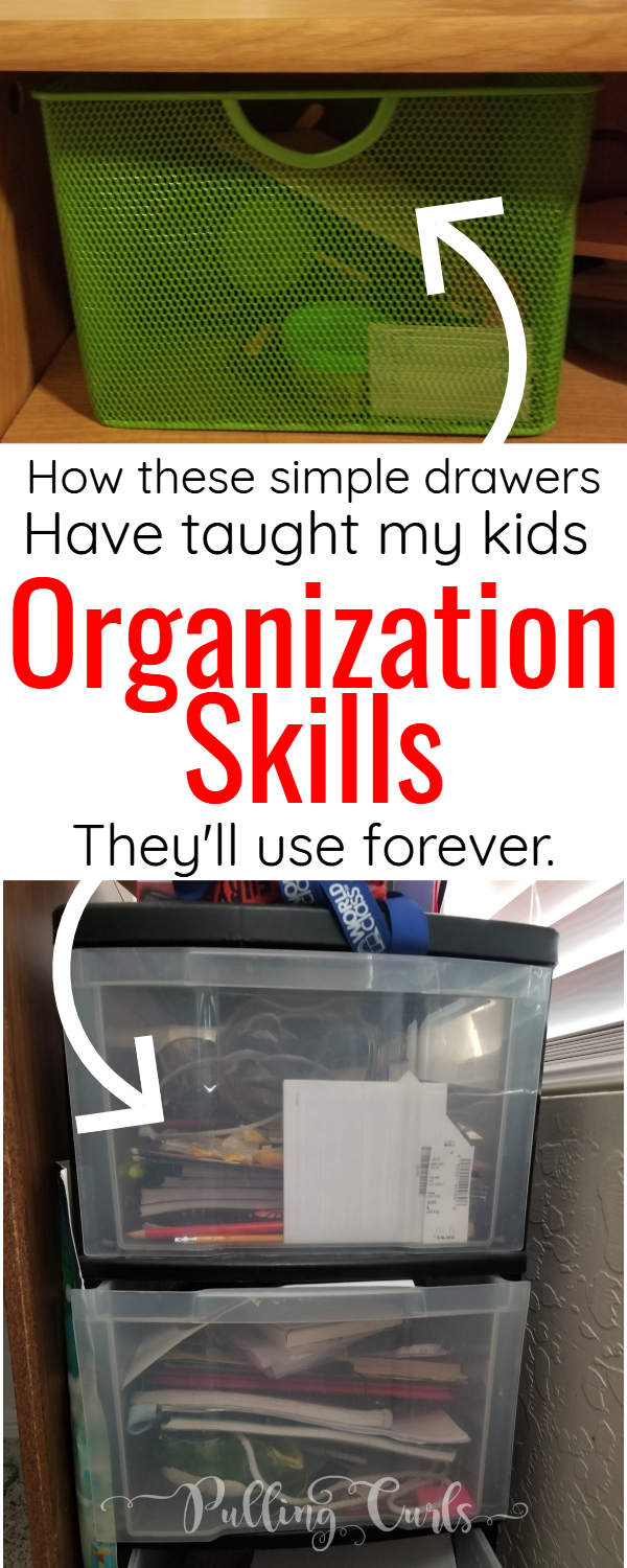 teaching kids to organize isn't as hard as it sounds, your small messy room can STILL Be OK -- with some tips from mom. #kids #orgnization #kidsroom via @pullingcurls