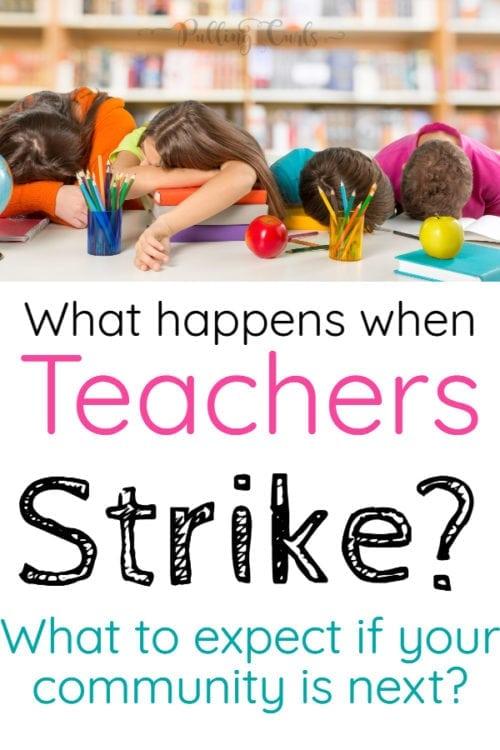 what happens when teachers strike?