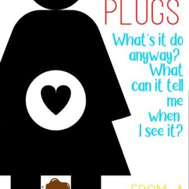 Pregnancy mucus plug
