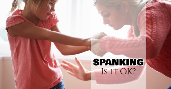 spanking left a red mark