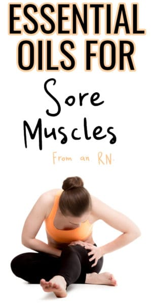 woman with sore muscles