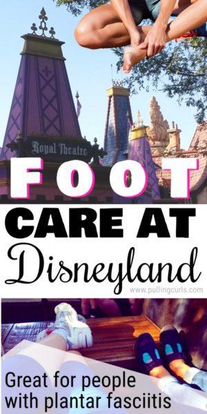 foot care at Disneyland