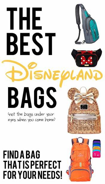 There is a LOT to carry around Disneyland, you are going to want to have a great bag to tote it all with you.  Today, I'm going to give you 4 great options, depending on what size you will need and plan to carry around the park. #disneytravel via @pullingcurls