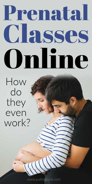 How does taking a birth class online work? Prenatal / hospital / birthing via @pullingcurls