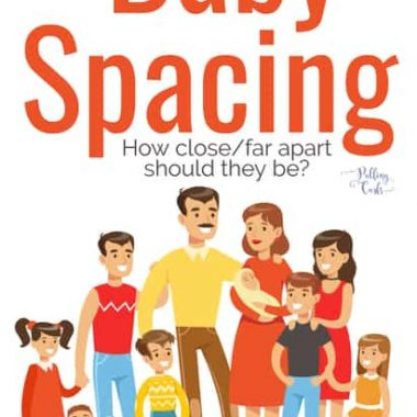How far apart should I have my Babies?:  Baby spacing