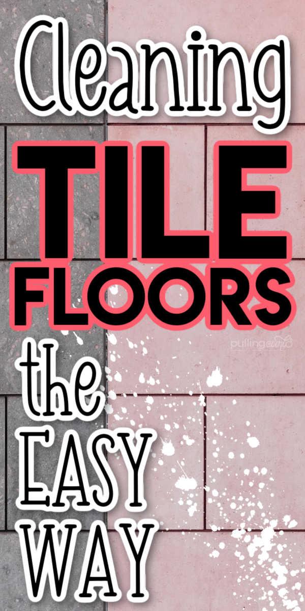 Best tips for cleaning tile floors. via @pullingcurls