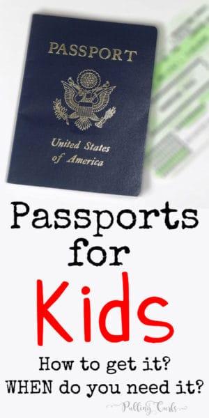 Passport for child