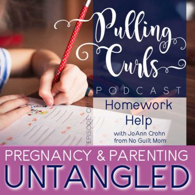 How to Get Kids to Do Homework with JoAnn Crohn from No Guilt Mom — PCP Episode 011